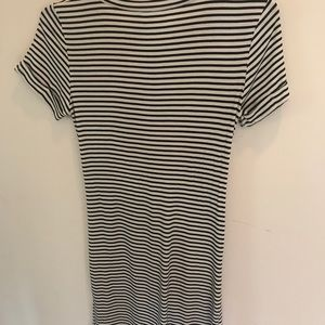 93b3a4ae390 Honey Punch Dresses - Honey Punch Black & White Striped Cut Out Dress